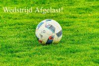 Voetbal, afgelasting